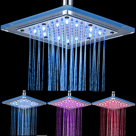 LED DOUCHE KOP VIERKANT 23X23 29,95